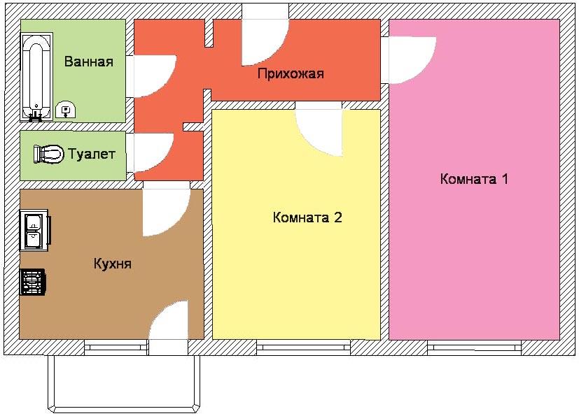 Эконом ремонт в новостройке под ключ в Екатеринбурге